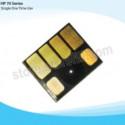 Chip For Hp-70 Light Cyan