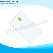 Mutoh 1 Liter Smart Card For 1324 & 1624 - Cyan