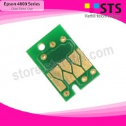 Chip For Epson Stylus Pro 4800 Printer Series - Magenta - For Ink Cartridge Type T606B00 - 220 ml
