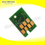 Chip For Epson Stylus Pro 7880 Printer Series - YELLOW - For Ink Cartridge Type T603400 - 220 ml